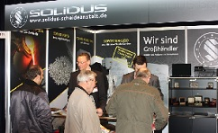 World Money Fair 2013 Solidus Stand